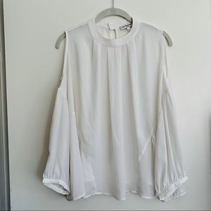 French Cold Shoulder blouse